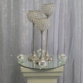 Trio of Bling Goblets