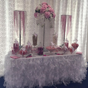 Sugarcube Candy Buffet