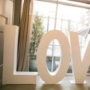Giant Love Letters 1.8m (POA)